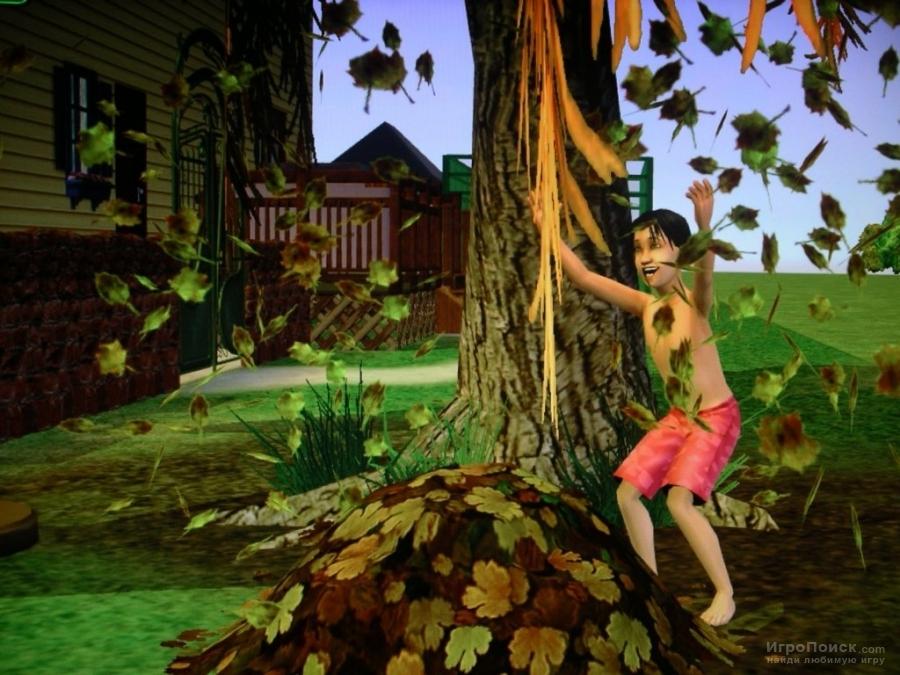Скриншот к игре The Sims 2: Seasons