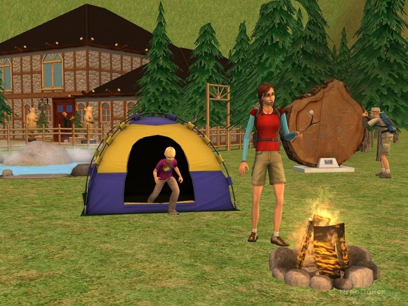 Скриншот к игре The Sims 2: Bon Voyage