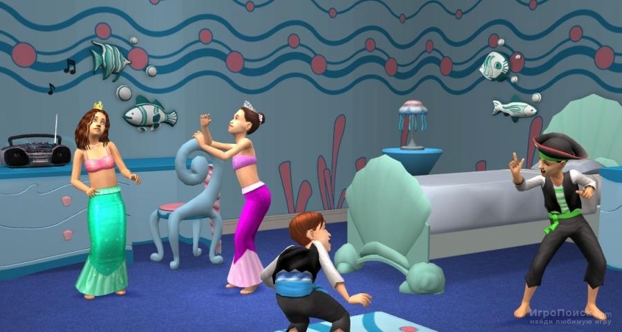 Скриншот к игре The Sims 2: Family Fun Stuff