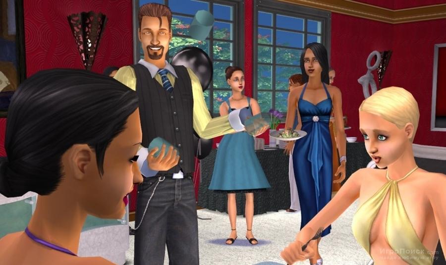 Скриншот к игре The Sims 2: Glamour Life Stuff