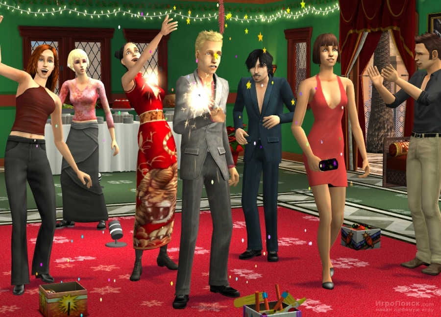 Скриншот к игре The Sims 2: Happy Holiday Stuff