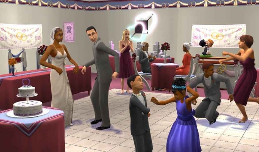 Скриншот к игре The Sims 2: Celebration! Stuff