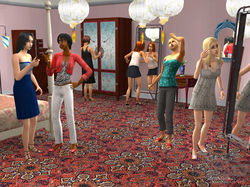 Скриншот к игре The Sims 2: H and M Fashion Stuff