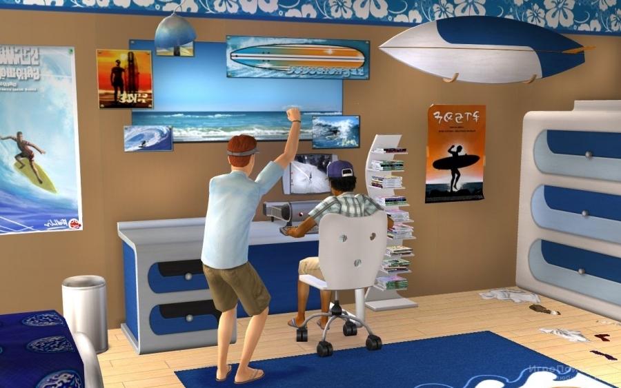 Скриншот к игре The Sims 2: Teen Style Stuff