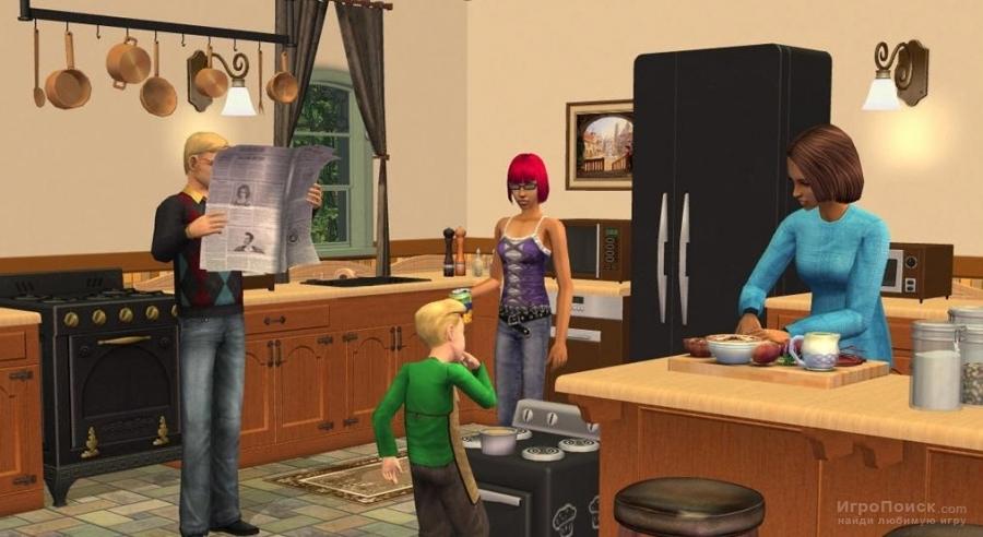 Скриншот к игре The Sims 2: Kitchen and Bath Interior Design Stuff