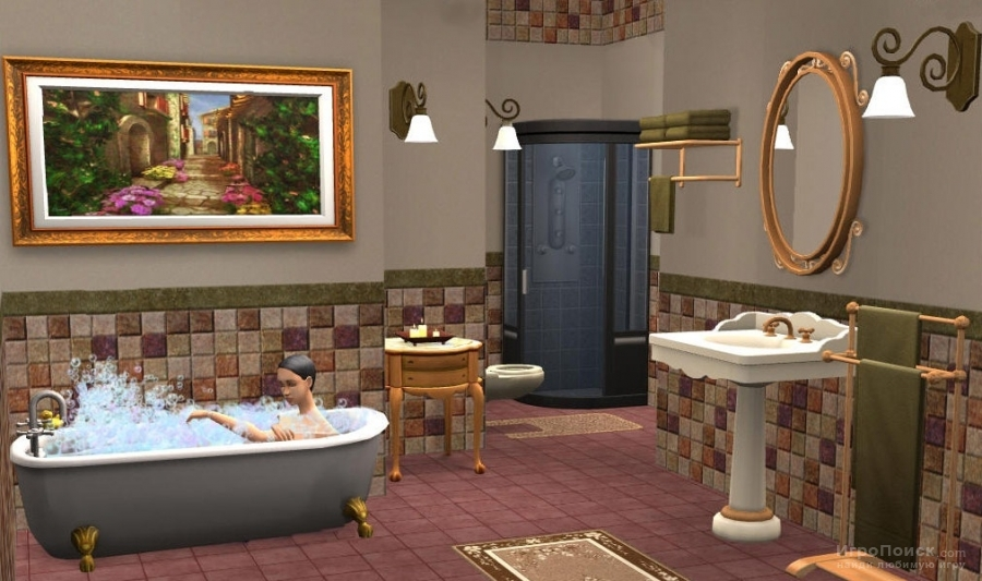 Скриншот к игре The Sims 2: Kitchen and Bath Interior Design Stuff