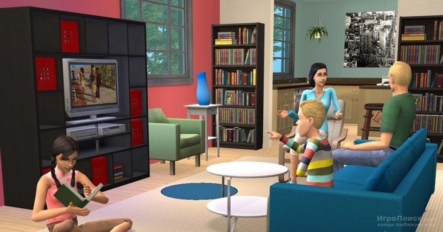 Скриншот к игре The Sims 2: IKEA Home Stuff