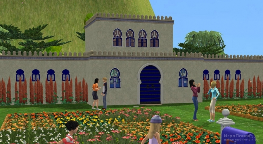 Скриншот к игре The Sims 2: Mansion and Garden Stuff