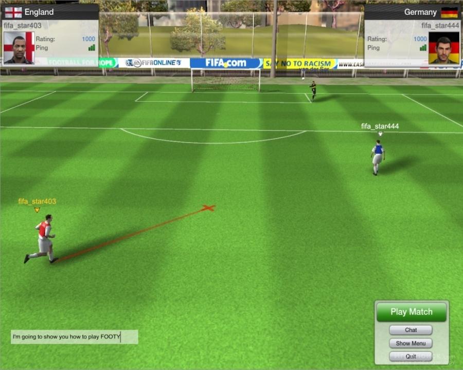 Скриншот к игре FIFA Online