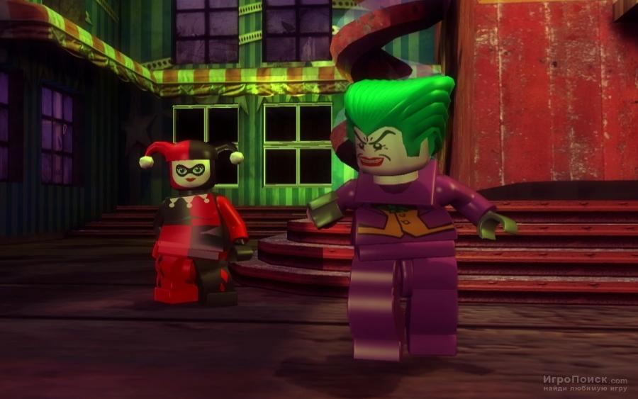 Скриншот к игре LEGO Batman: The Videogame