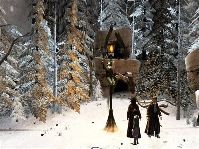 Скриншот к игре The Chronicles of Narnia: The Lion, The Witch and The Wardrobe