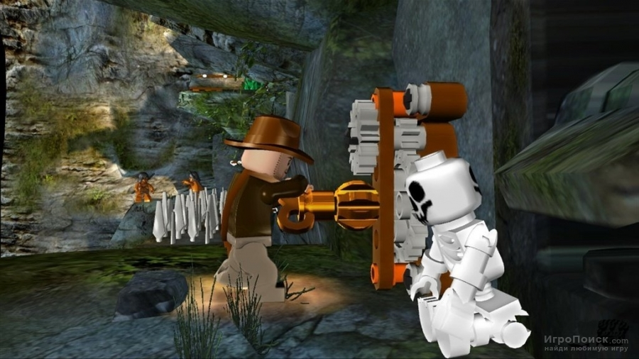 Скриншот к игре LEGO Indiana Jones: The Original Adventures