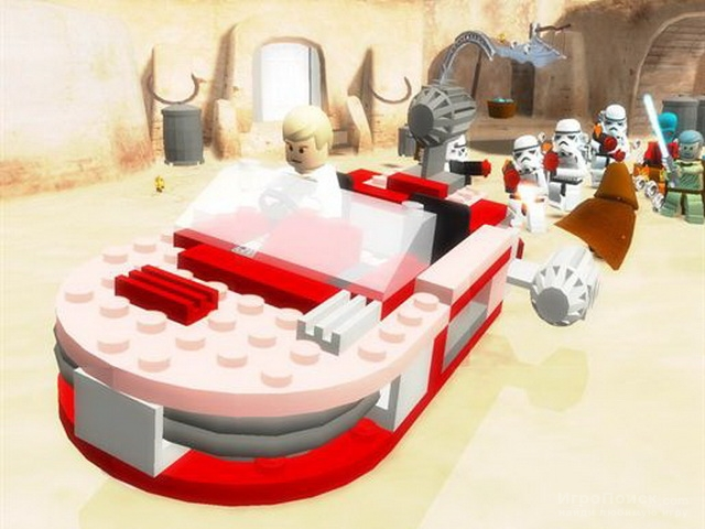 Скриншот к игре LEGO Star Wars II: The Original Trilogy