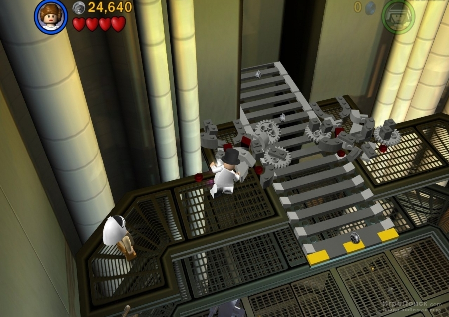 Скриншот к игре LEGO Star Wars: The Complete Saga
