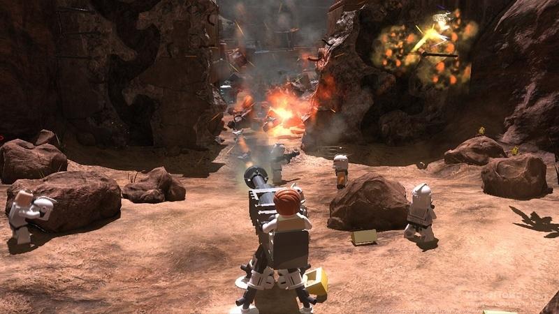 Скриншот к игре LEGO Star Wars III: The Clone Wars