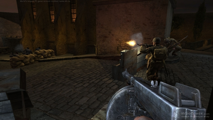 Скриншот к игре Medal of Honor: Airborne