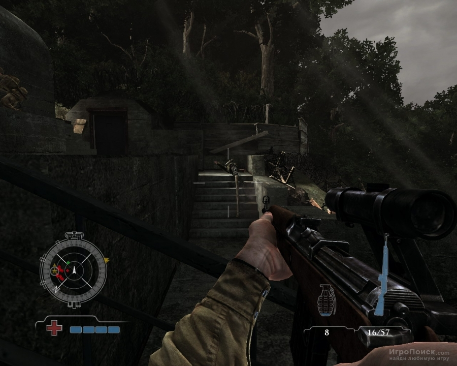 Скриншот к игре Medal of Honor: Airborne