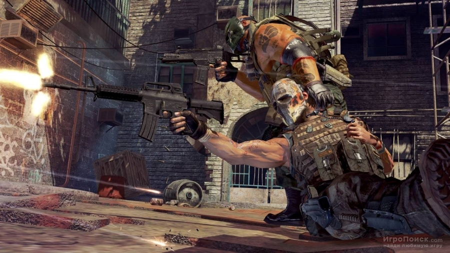 Скриншот к игре Army Of Two: The 40th Day