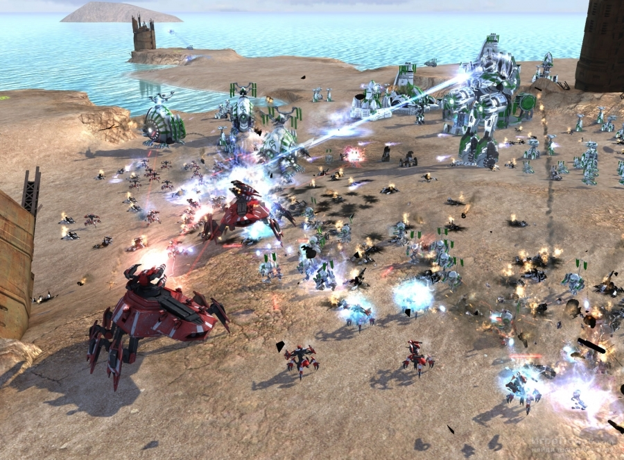 Скриншот к игре Supreme Commander 2