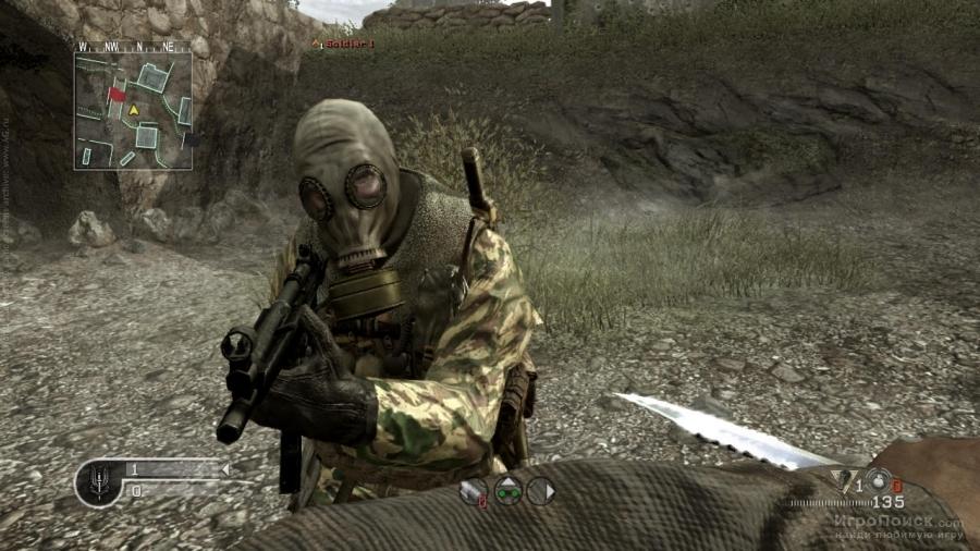 Скриншот к игре Call of Duty 4: Modern Warfare
