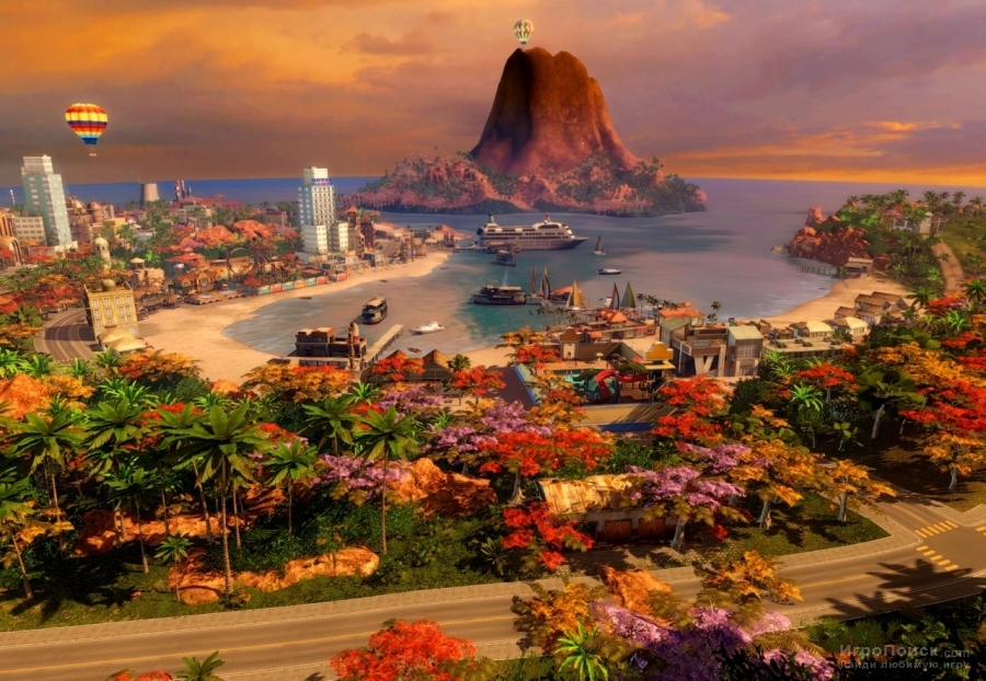 Скриншот к игре Tropico 4