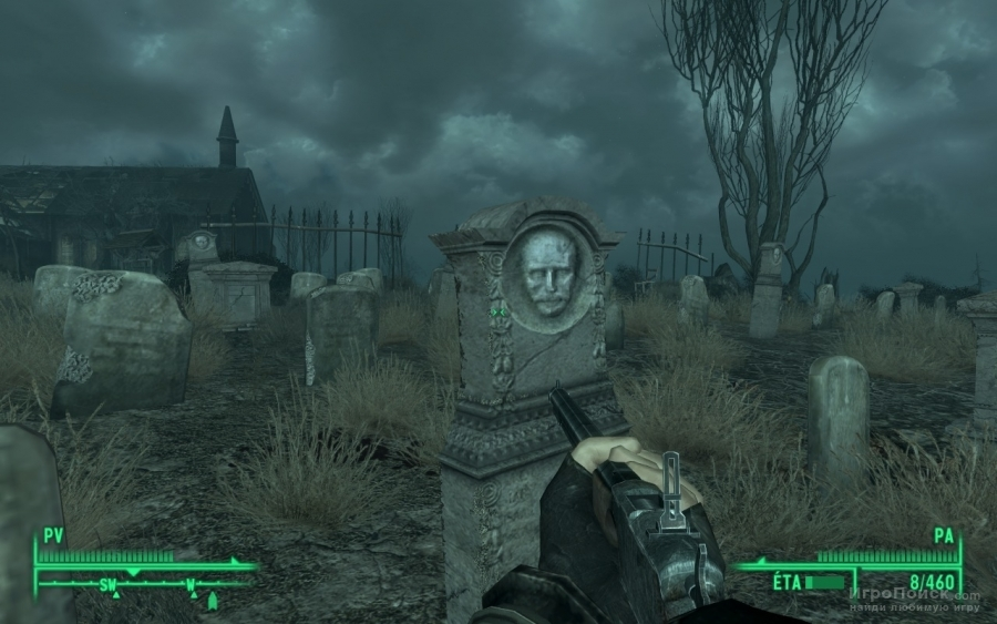 Скриншот к игре Fallout 3: Point Lookout
