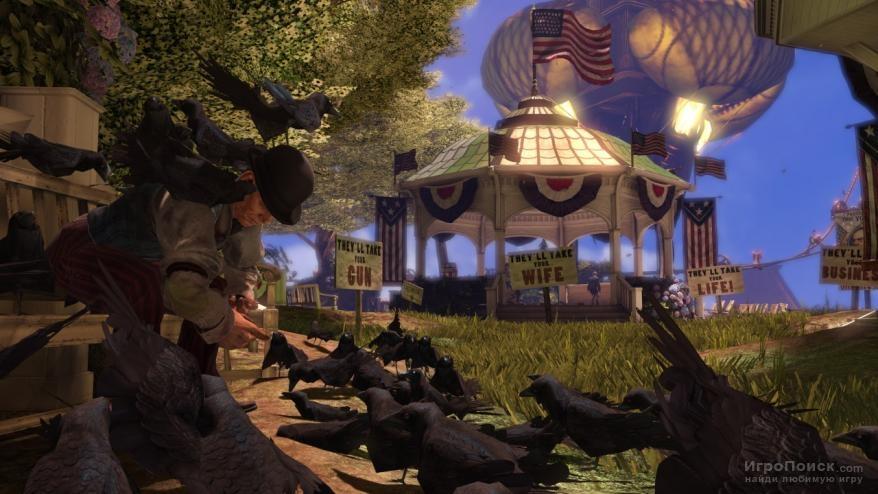 Скриншот к игре BioShock Infinite