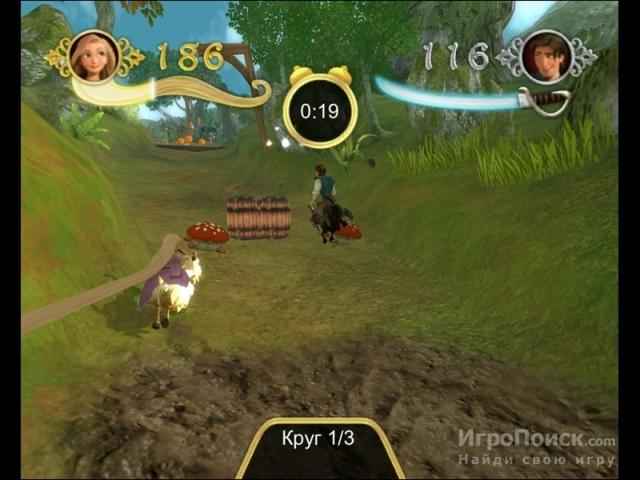 Скриншот к игре Disney Tangled: The Video Game