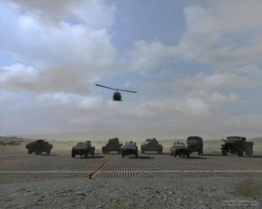 Скриншот к игре ArmA 2: Operation Arrowhead
