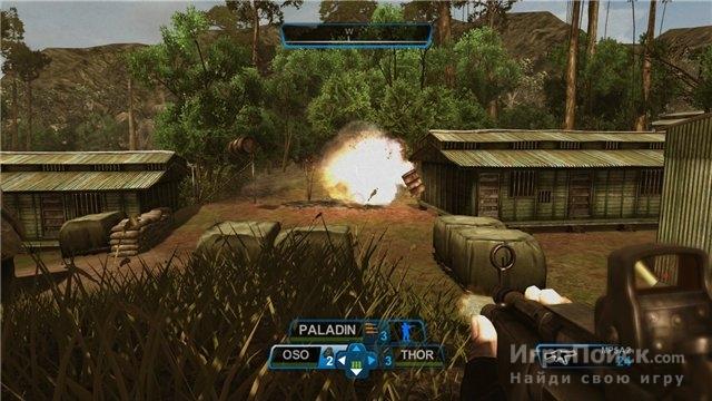Скриншот к игре Raven Squad: Operation Hidden Dagger