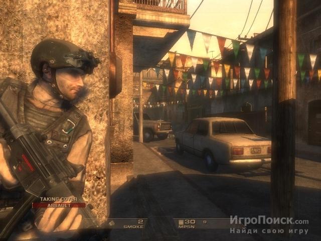 Скриншот к игре Tom Clancy's Rainbow Six: Vegas