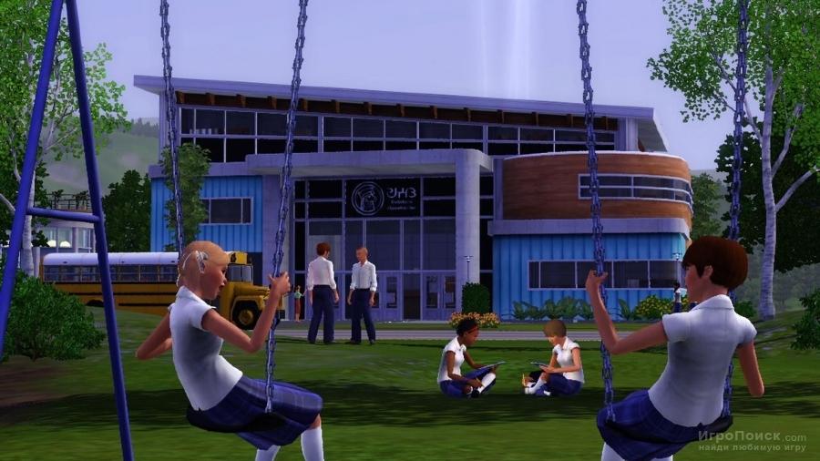 Скриншот к игре The Sims 3: Town Life Stuff