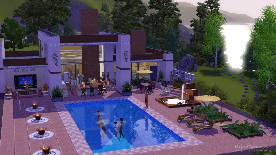 Скриншот к игре The Sims 3: Outdoor Living Stuff