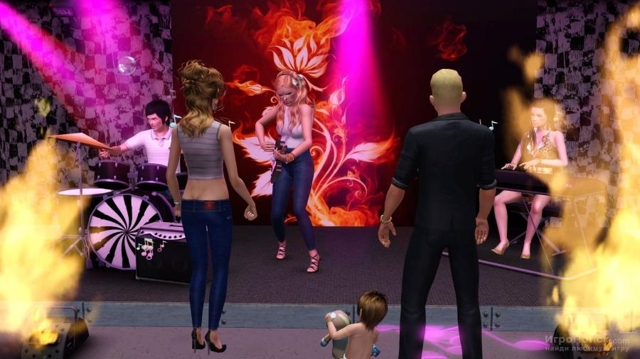 Скриншот к игре The Sims 2: Nightlife