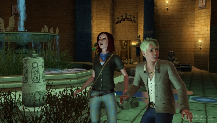 Скриншот к игре The Sims 3: World Adventures