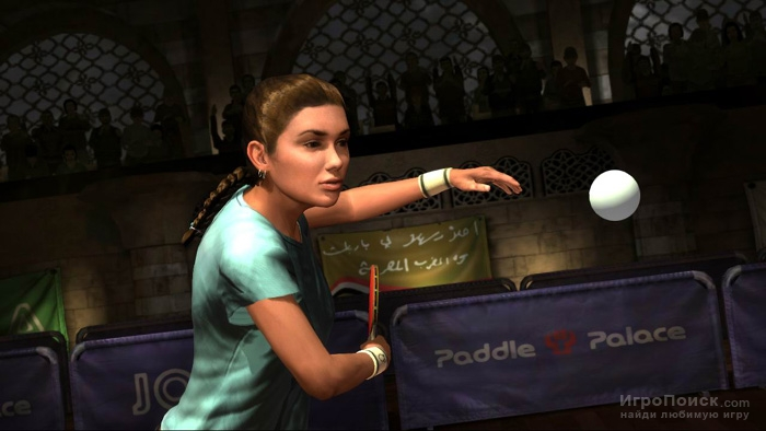 Скриншот к игре Rockstar Games Presents Table Tennis
