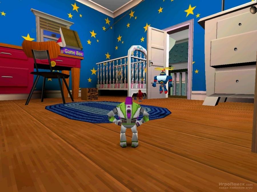 Скриншот к игре Disney-Pixar Toy Story 2: Buzz Lightyear to the Rescue