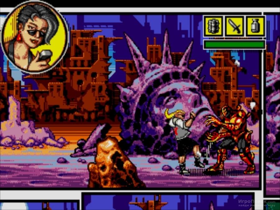 Скриншот к игре Comix Zone