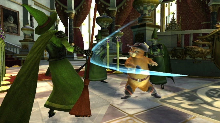 Скриншот к игре Shrek Forever After: The Game