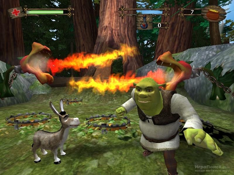 Shrek 2 The Game скачать игру - фото 3