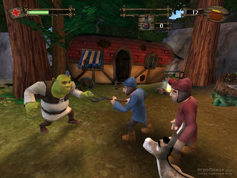 Скриншот к игре Shrek 2: The Game