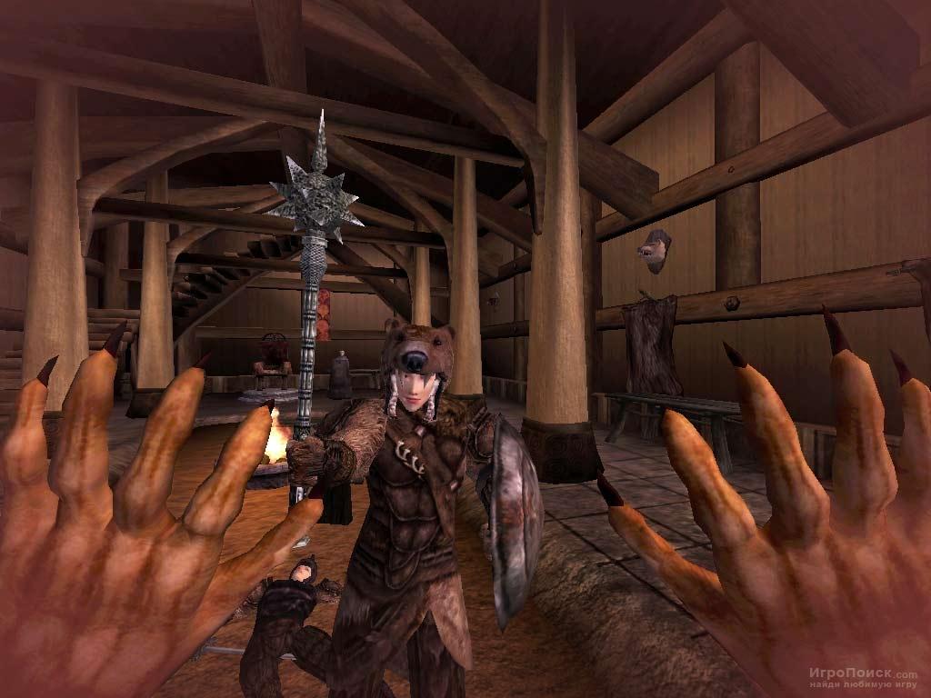 Скриншот к игре The Elder Scrolls 3: Bloodmoon
