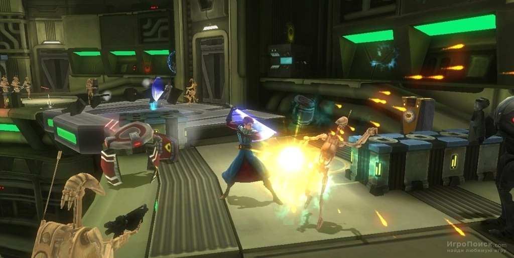 Скриншот к игре Star Wars: The Clone Wars - Republic Heroes