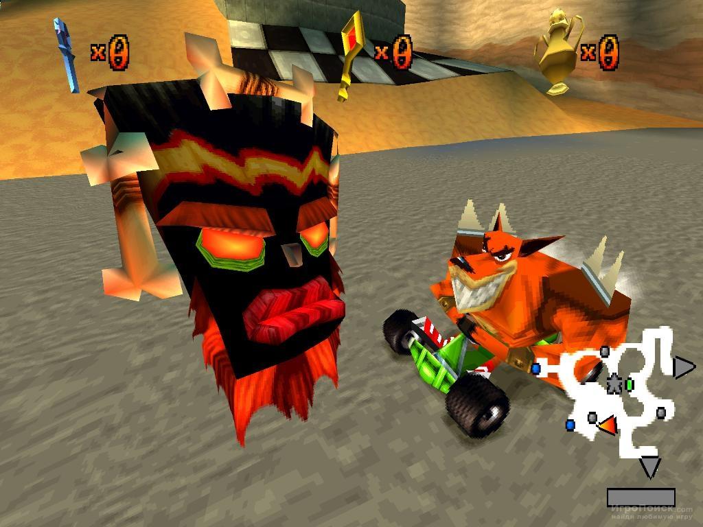Скриншот к игре CTR: Crash Team Racing