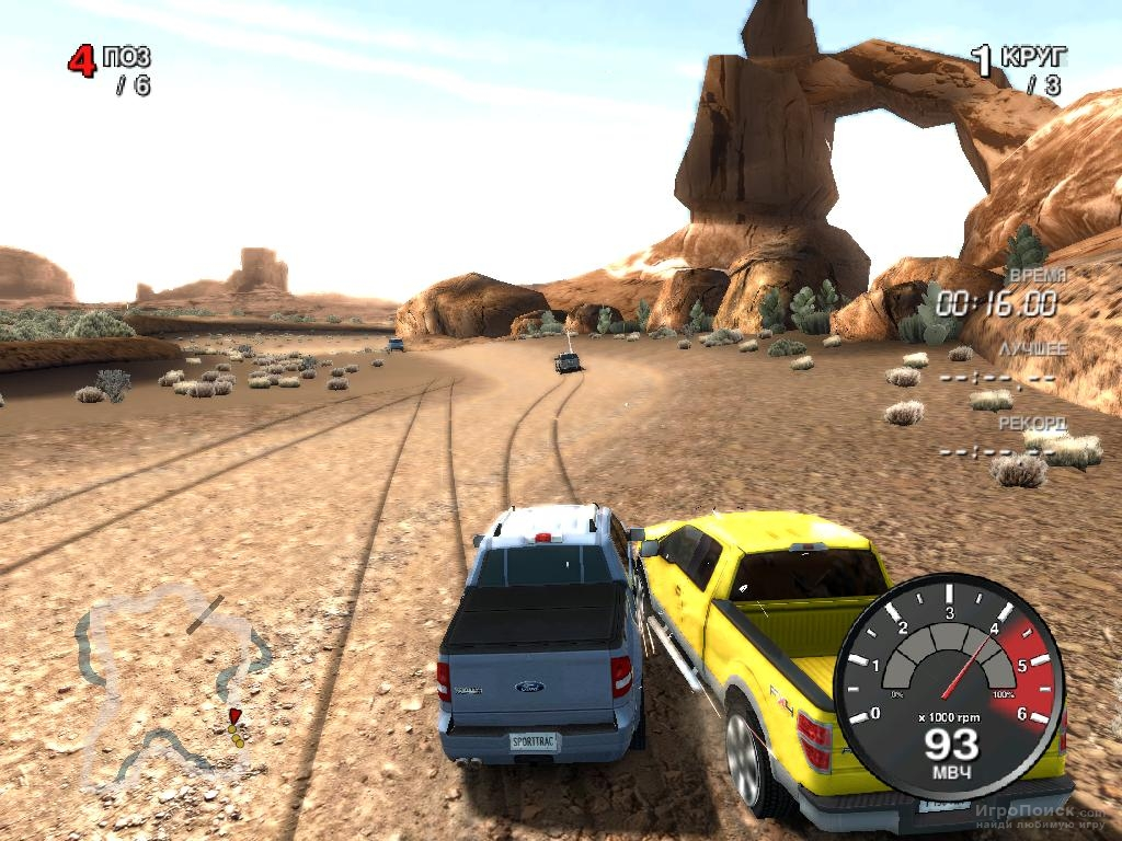 Скриншот к игре Ford Racing: Off Road