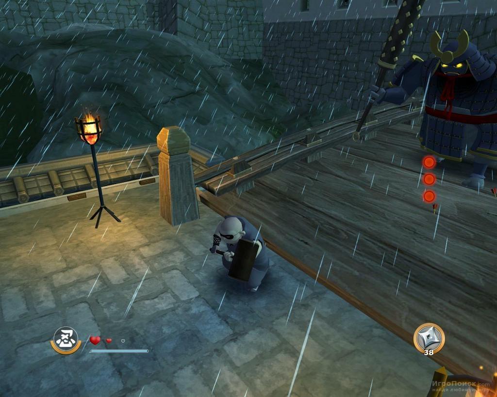 Скриншот к игре Mini Ninjas