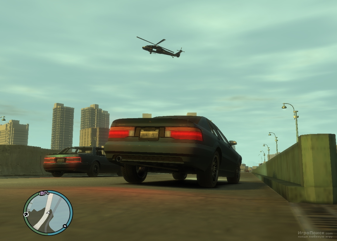 Скриншот к игре Grand Theft Auto: Episodes From Liberty City