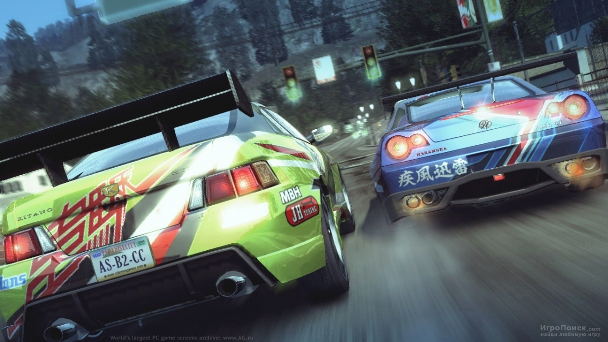 Скриншот к игре Burnout Paradise: The Ultimate Box