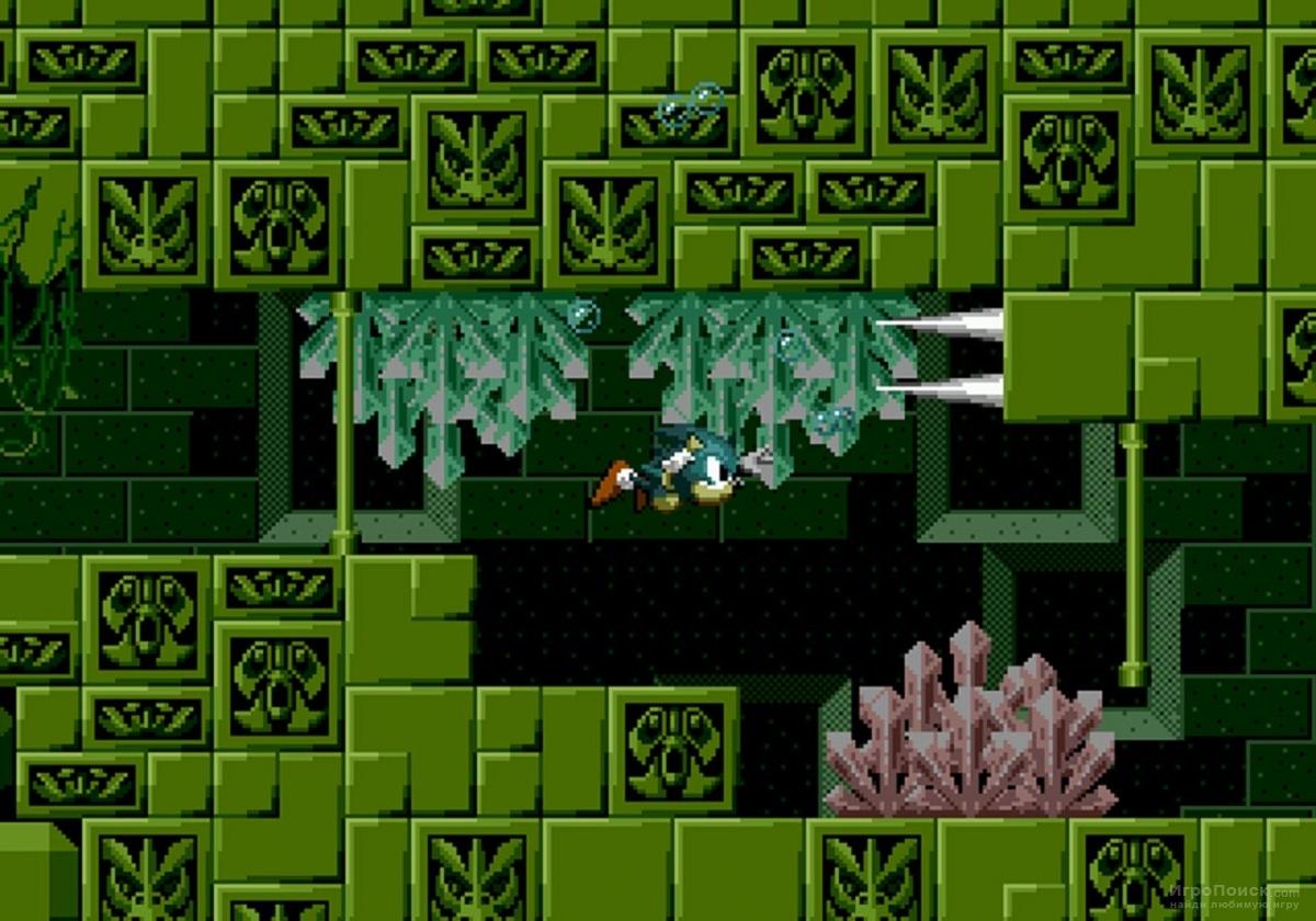 Скриншот к игре Sonic the Hedgehog