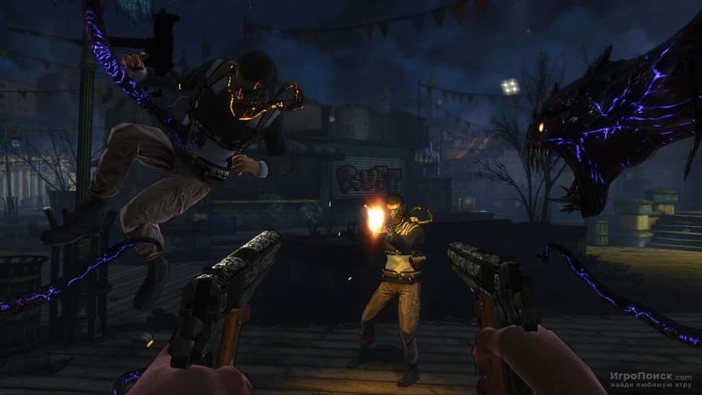 Скриншот к игре The Darkness 2